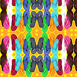 Flip Flop Polka Dot