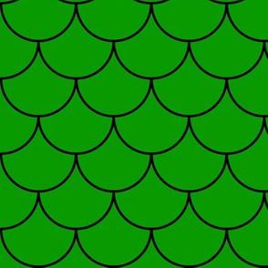 Green Mermaid Scales