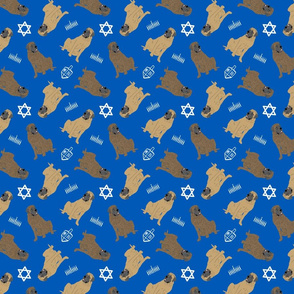 Tiny Mastiffs - Hanukkah