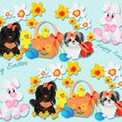Shih tzu - Easter Bunny