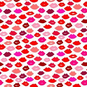 lips // lipstick fabric print pattern beauty makeup fashion print andrea lauren fabric andrea lauren design