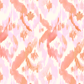 Pink-Coral-Ikat-Diamonds