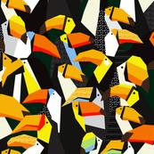 seamless toucans