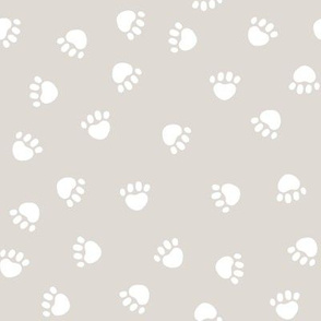 paws paw fabric silhouette cat and dog paws