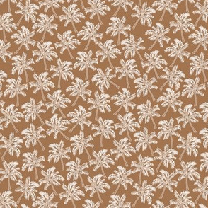 Palm Trees in Brown - SMALL