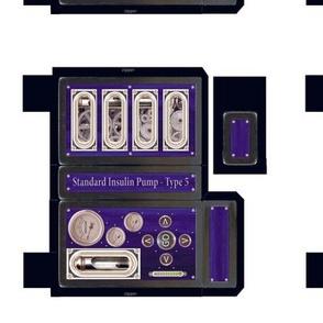 Steampunk Insulin Pump Case