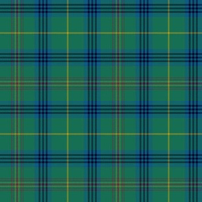 "King Edward VII / King George IV tartan, 4"" dark"