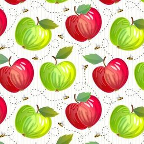 Fresh Apples - Light - White