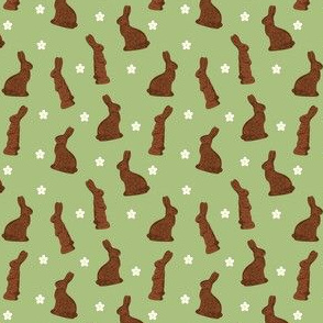 Cocoa Bunnies Small - Green