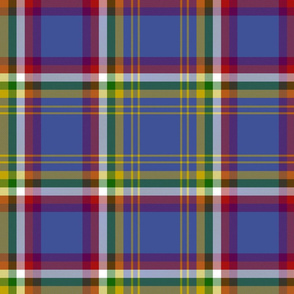 "Yukon province official tartan, 12"" dark"