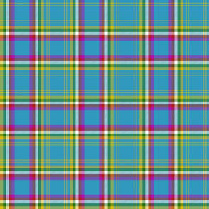 "Yukon province official tartan, 6"" bright"