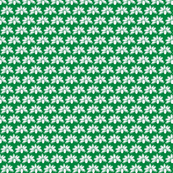 Third Tier Posey Forest Green White