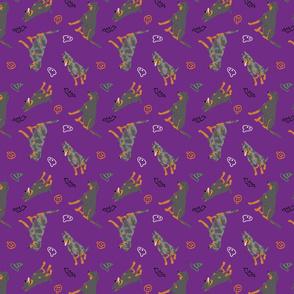 Tiny Beaucerons - Halloween