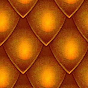 Dragon Scale - Gold