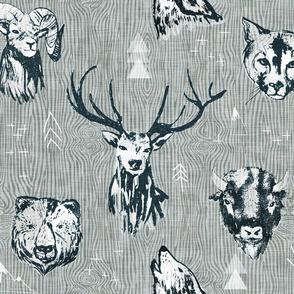 mountain beasts (LARGE)