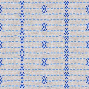 FRENCH_LINEN_TRIBAL_STRIPE_BLUE