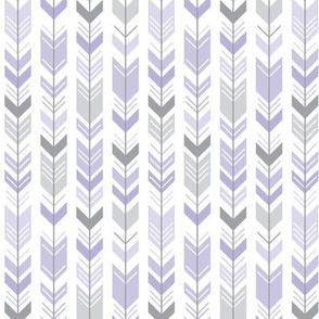 herringbone arrows light purple