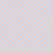 herringbone LG blue peach