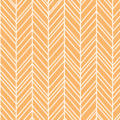 herringbone feathers mango