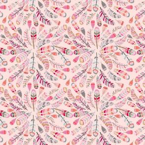 motif_plume_fond_saumon_M