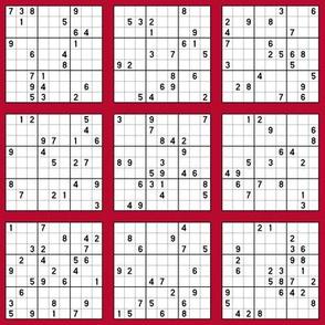 Sudoku - Red