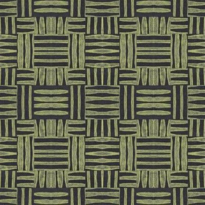 crosshatch green on black