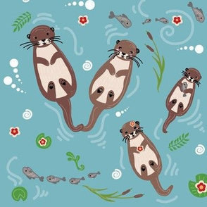 The Otters Family