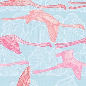 Flamingo Sky