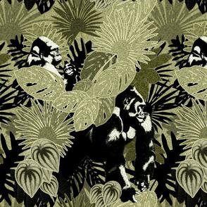 Gorillas In The Rain Forest