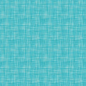 Sewing Swatches Weave - Turquoise