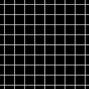 Sewing Swatches Grid - Black