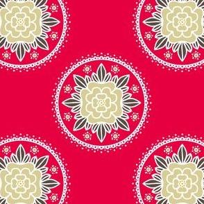 Kite Garden Rose - Retro Kitchen Colors C