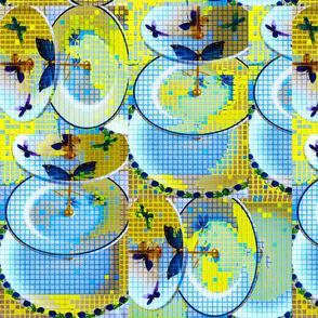 crockery mosaic