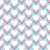 Sweethearts* (Polymer) || heart candy hearts valentine valentines day love pop art pastel