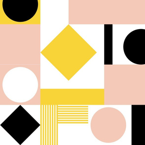 Geometric Cheater Quilt