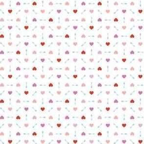 Cupid* (Pinks & Blue) || arrow arrows heart hearts valentine valentines day love pastel