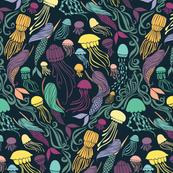 Mermaids and Jellyfish - Cassiopeia