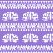 Chrysanthemum Stripe Violet