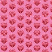 Sassy Hot Pink Sweethearts