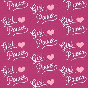 Girl Power is Pink