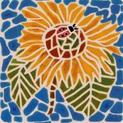 Sunflower Mosaic