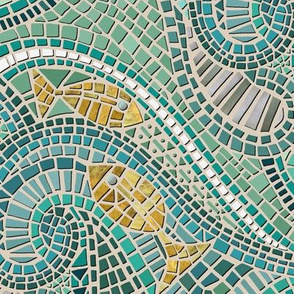 mosaic fish mint