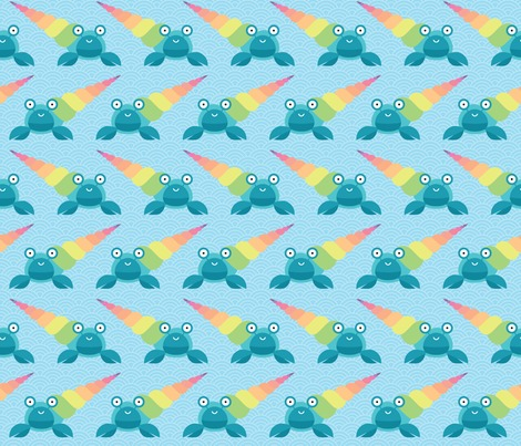 Rrrainbow-hermit-crab-pattern-by-petits-pixels_contest136911preview