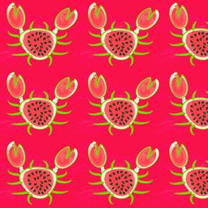 Watermelon Crab