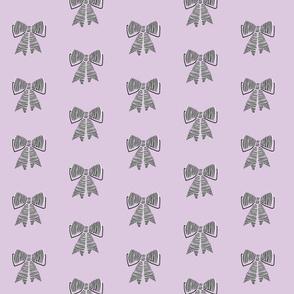 schoolgirl bows // pantone 88-9