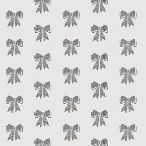 schoolgirl bows // pantone 169-1