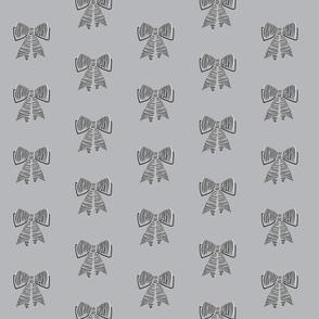 schoolgirl bows // pantone 179-5