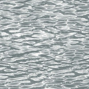 silver rippling waters