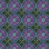 Mosaic Quatre Foil Design