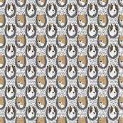 American Staffordshire Terrier horseshoe portraits B - small